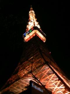 夜のタワー!