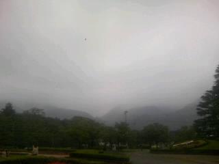 天気が悪いっす
