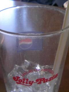 汚いグラス…