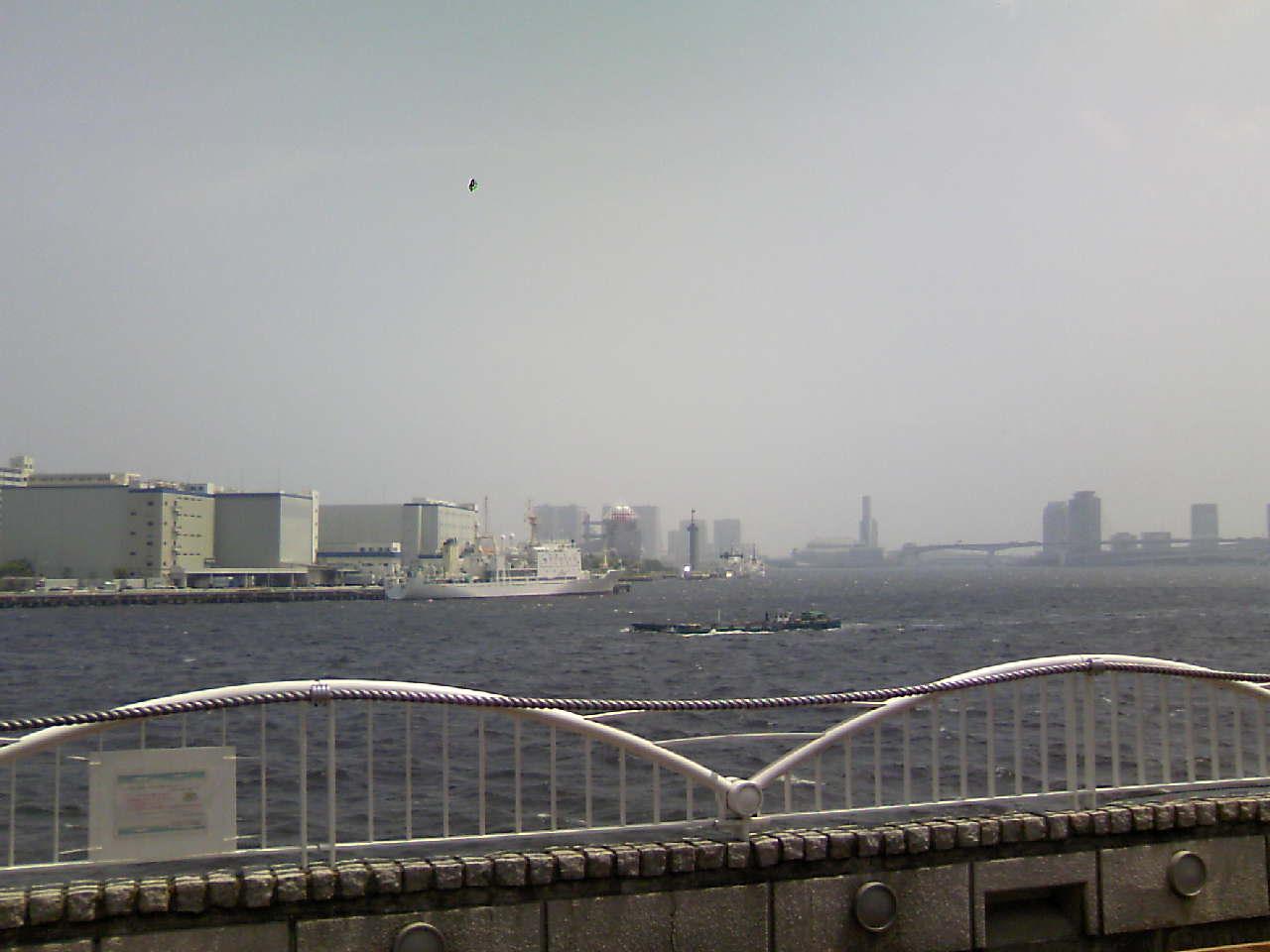 久し振りに海