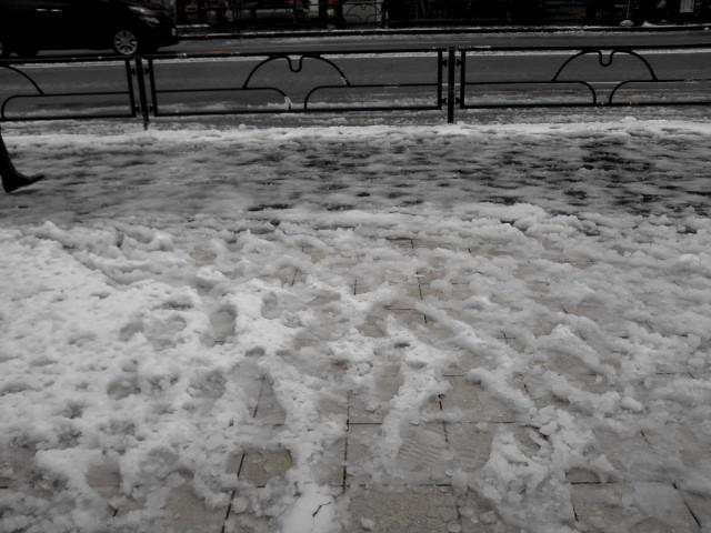 原宿雪景色